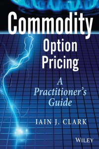 Commodity Option Pricing a Practitioner Guide