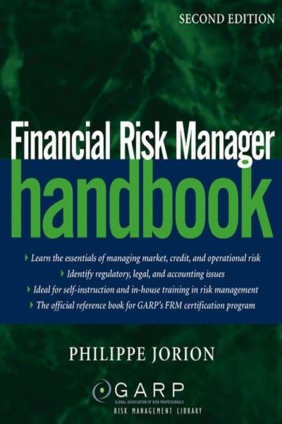 Financial Risk Manager Handbook 2nd