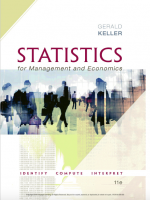 Statistics for management and economics 11e