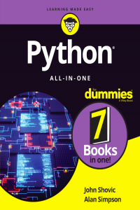 Python All in One for Dummies