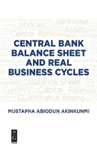 Central Bank Balance Sheet and Real Business Cycles