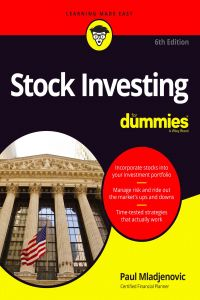 Stock Investing for Dummies 6th edition Paul Mladjenovic