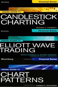Bộ Sách 3 Cuốn Candlestick Charting Chart Patterns và Elliott Wave Trading của Bloomberg Financial Series