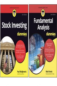 Bộ Sách Stock Investing for dummies và Fundamental Analysis for dummies 2nd