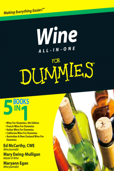 Wine all in One for Dummies 5 Books in One