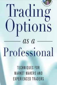 Trading Option as a Professional