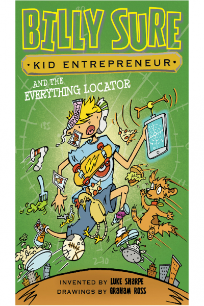 Billy Sure Kid Entrepreneur and the Everything Locator 10