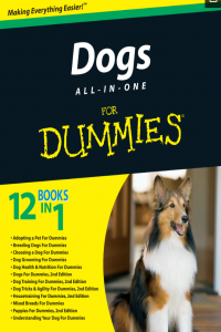 Dog All in One Training for Dummies 6 Books in 1