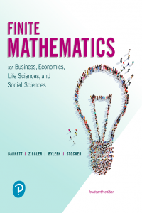 Finite Mathematics for Business, Economics, Life Sciences, and Social Sciences 14th Edition
